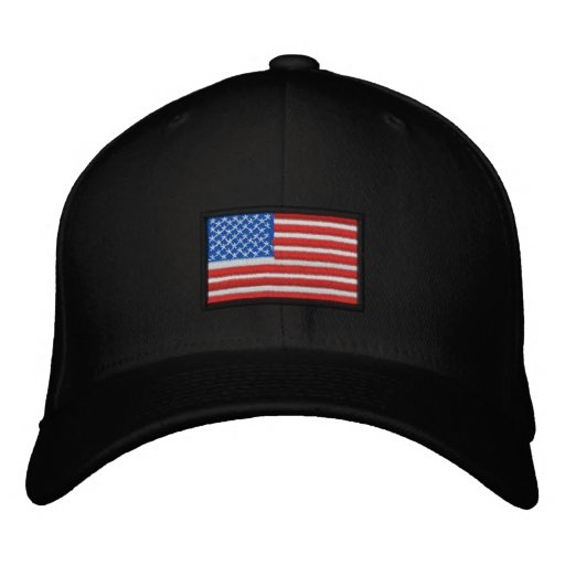 All American USA Embroidered Baseball Cap
