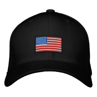 All American USA Embroidered Hat