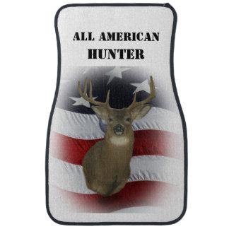All American Whitetail Deer Set of Car Mats Floor Mat