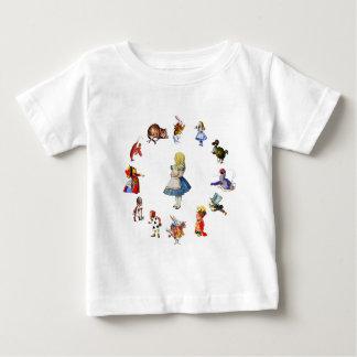 ALL AROUND ALICE IN WONDERLAND BABY T-Shirt