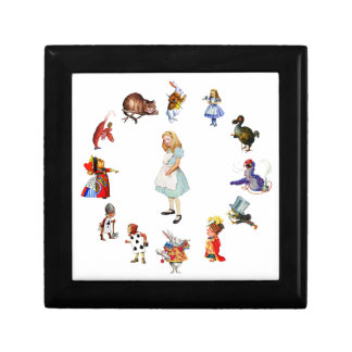 All Around Alice In Wonderland Gift Box
