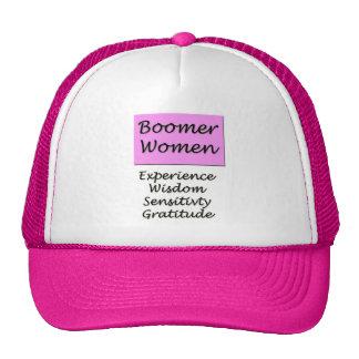 All-around hat for Baby Boomer women.