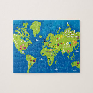All Around the World Jigsaw Puzzle