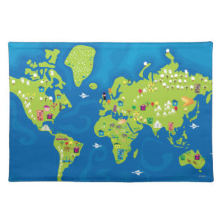 All Around the World Placemats