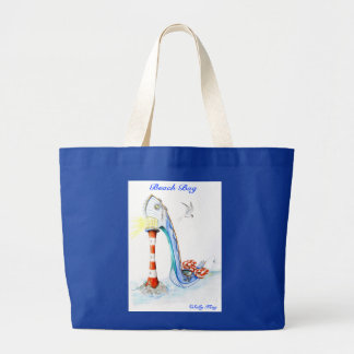 All at Sea large Beach Tote