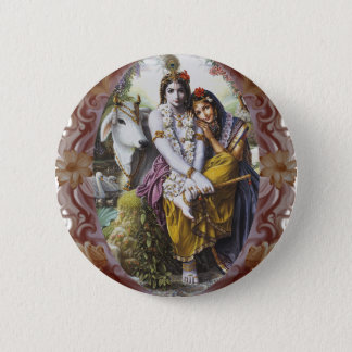 All-Attractive Couple 6 Cm Round Badge