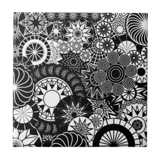 All B And W Tile