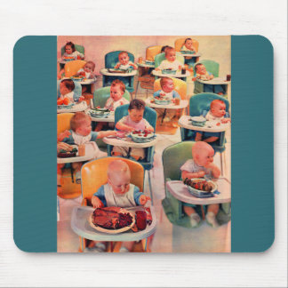 all baby restaurant mouse pad