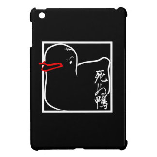 All Black Death Duck Case iPad Mini Cases