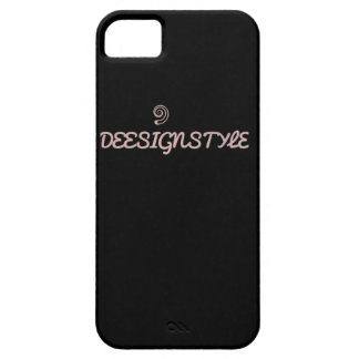 """All Black"" DeeSignStyle Phone Case"