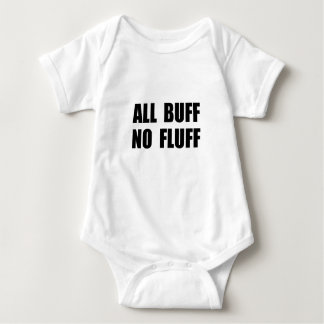 All Buff No Fluff Baby Bodysuit
