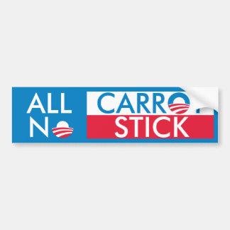 All Carrot No Stick Bumper Sticker
