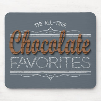 All Chocolate Favorites Mouse Pad