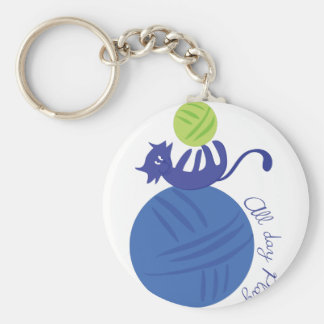 All Day Play Key Chain