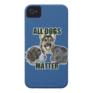 All dogs matter iPhone 4 Case-Mate case