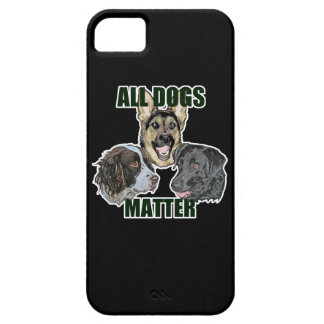 All dogs matter iPhone 5 cover