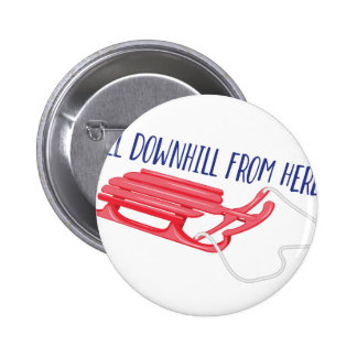 All Downhill 6 Cm Round Badge
