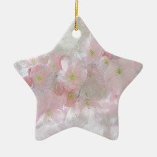 All Dreams in Pink Ceramic Ornament
