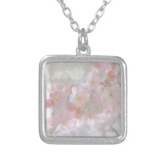All Dreams in Pink Silver Plated Necklace