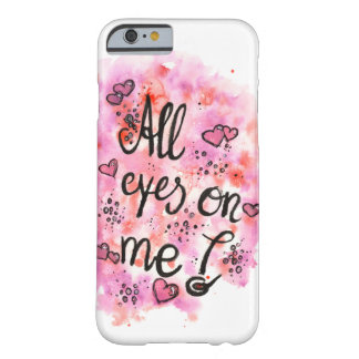All eyes on ME mobile phone covering Barely There iPhone 6 Case