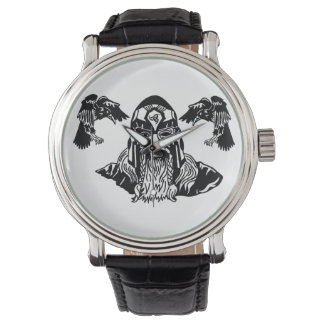 All-Father Odin with Ravens Watch