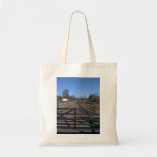 All Fenced In Budget Tote Bag