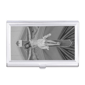 All For You Grayscale Business Card Holder