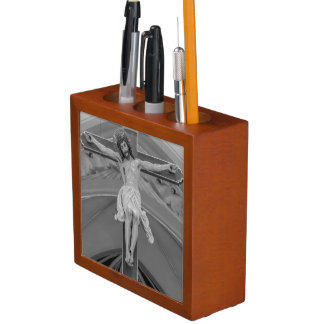 All For You Grayscale Desk Organiser