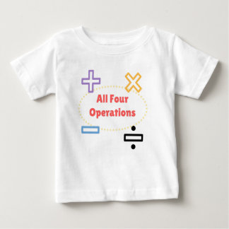 All Four Operations Baby T-Shirt