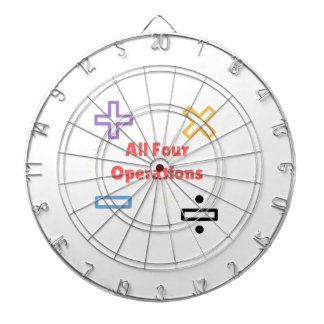 All Four Operations Dartboard