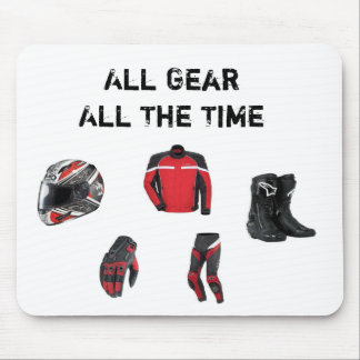 All gear all the time mousepad