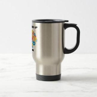 All Geared Up To Think (Gears Brain) Coffee Mugs