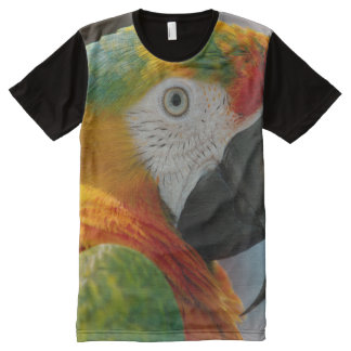 All God's Creatures Macaw Print All-Over Print T-Shirt