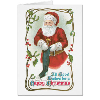 All Good Wishes for a Happy Christmas Greeting Card