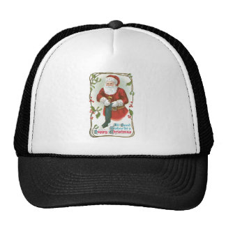 All Good Wishes for a Happy Christmas Hats