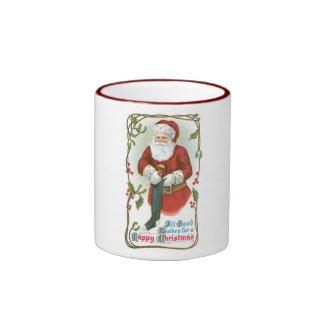 All Good Wishes for a Happy Christmas Coffee Mug