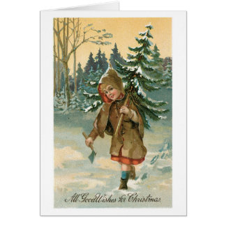 All Good Wishes for Christmas Card