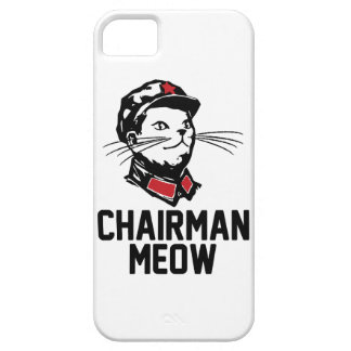 All hail Chairman Meow Case For The iPhone 5
