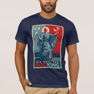 All Hail the God-King Obama T-shirt