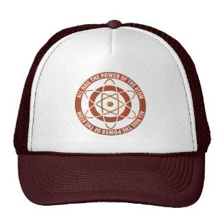 All Hail the Power of the Atom Retro Logo Cap