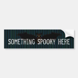 All Hallow's Blue Stationery Bumper Sticker