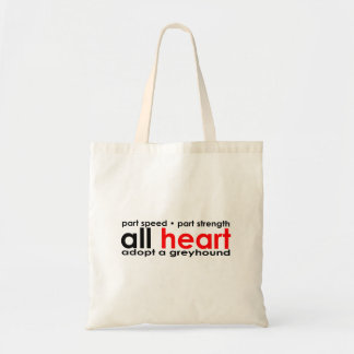 All Heart Greyhound Bag