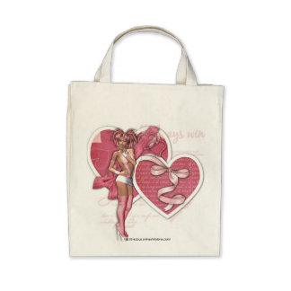 All Heart - Organic Grocery Tote Tote Bag
