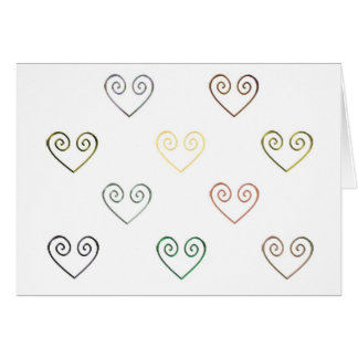 All Hearts by Vintage Love Card
