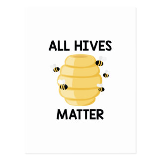 All Hives Matter Postcard