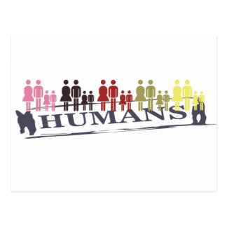 All Humans Postcard