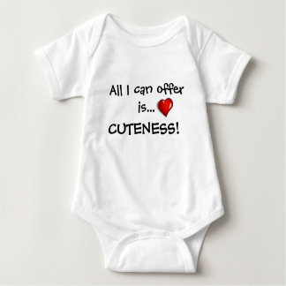 All I can offer is cuteness! Baby Bodysuit