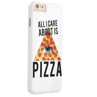 All i care about is pizza barely there iPhone 6 plus case