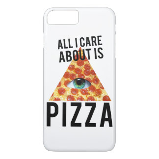 All i care about is pizza iPhone 7 plus case
