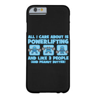 All I Care About Is Powerlifting - Kawaii Workout Barely There iPhone 6 Case